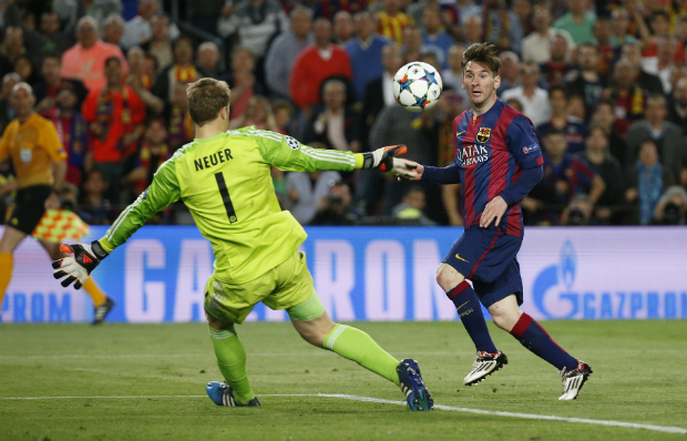 Messi Barcelona UEFA Champions League 2015