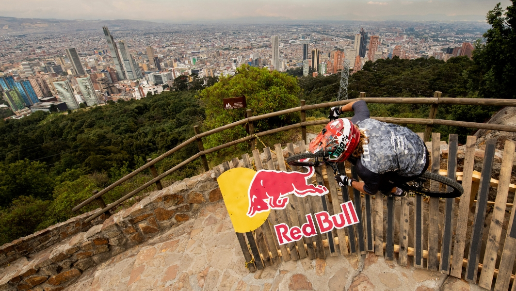 Red Bull Down Hill Bicycle stair race