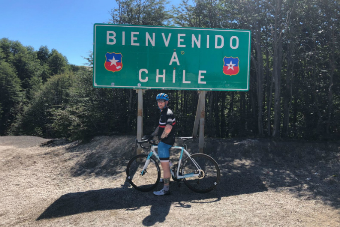 Fastest time to cycle the length of South America 10
