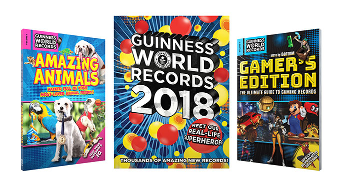 Guinness World Records 2018 collection