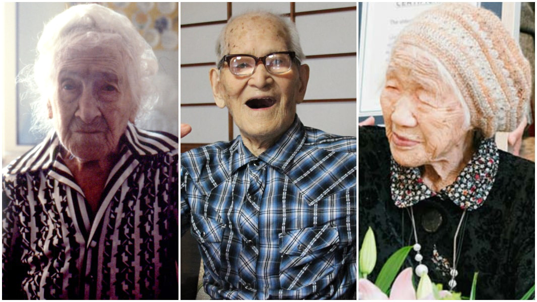 Jiroemon Kimura oldest man ever jeanne calment oldest woman ever kane tanaka oldest person living
