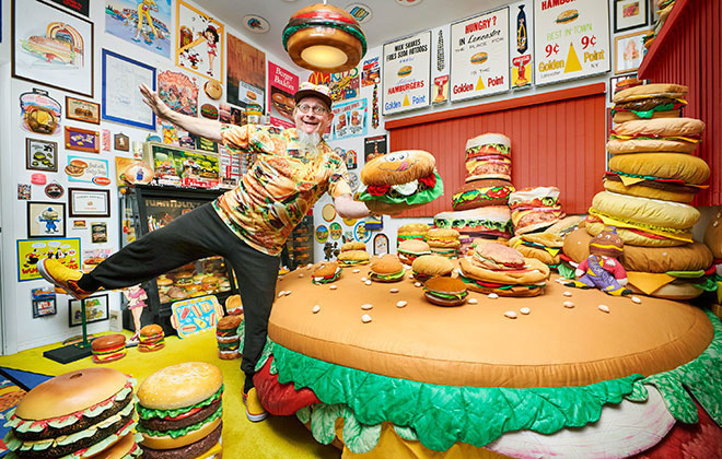 Dedications and Collections burger collection