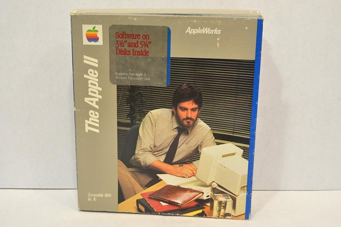 The Apple II largest collection of spreadsheet software