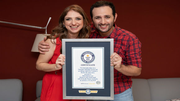 "Manual Do Mundo celebra sus ""10"" con un título de Guinness World Records"