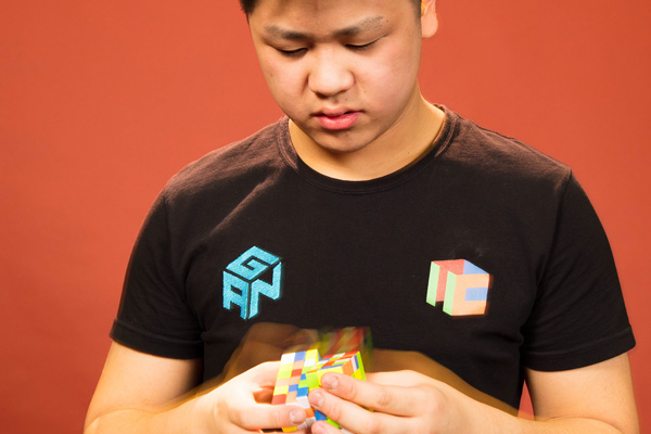 Fastest time to solve a 6 x 6 x 6 Rubik's Cube is 1 minute 13.82 seconds by Max Park